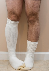 hairy knees